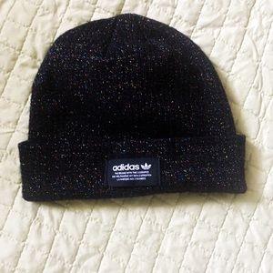 🌹3/$16 Adidas Sparkle Black Beanie